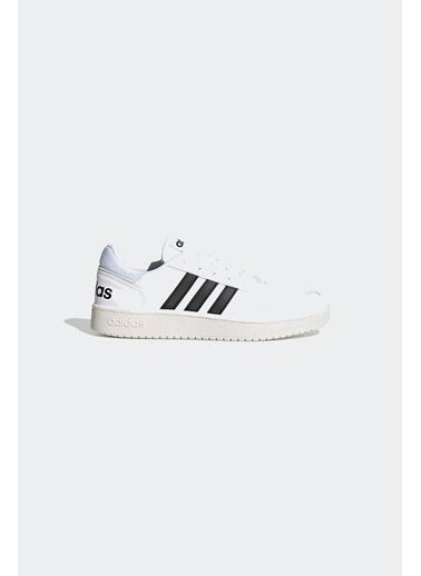 adidas Erkek Hoops 2.0 Sneakers 288630 Beyaz